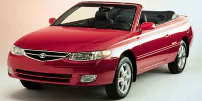 2000 toyota camry solara details on prices features. Black Bedroom Furniture Sets. Home Design Ideas