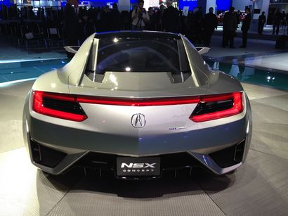 2012 Acura  on Acura Says We Should Expect To See The New Nsx    To Debut In The Next