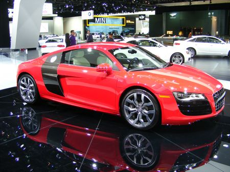 Audi R8 2009 Car Show