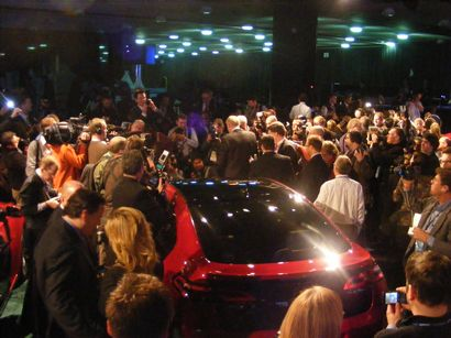 2011 North American International Auto Show press conference image