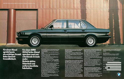 Vwvortex Saw A Bmw I Didnt Know Existed Tell Me About The 524td