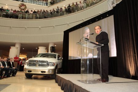Ram wins 2013 Motortrend magazine Truck of the Year