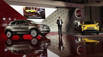 Awesome Fiat Press Conference At The 2014 LA Auto Show