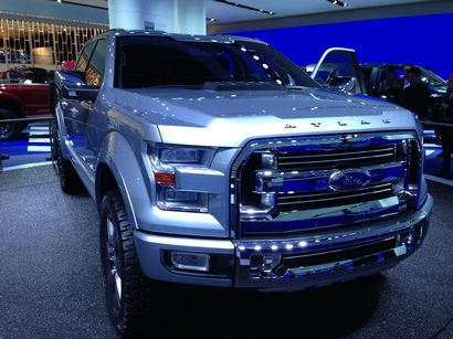 2015 Ford Atlas Concept truck