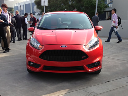 Fiesta ST debut at the LA Auto Show