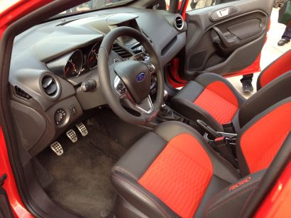 2014 Ford Fiesta ST stick shift