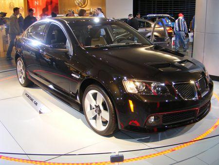 2009 Pontiac G8 Black Edition