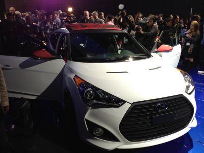 Hyundai Veloster C3 Roll Top at LA Auto Show