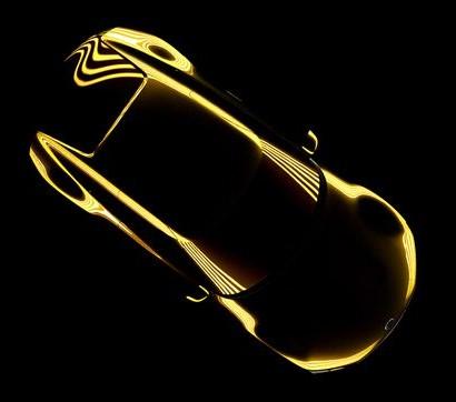 Kia GT4 Stinger Concept teaser