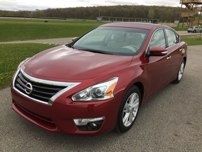 2015 nissan altima sv first drive. Black Bedroom Furniture Sets. Home Design Ideas