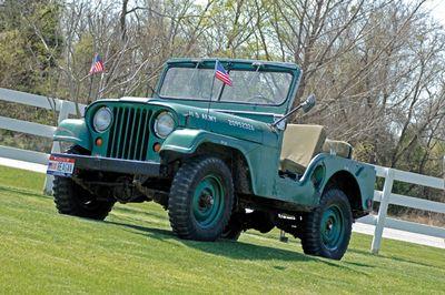 1952 M3A1 Jeep