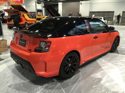 scion at the 2014 los angeles auto show. Black Bedroom Furniture Sets. Home Design Ideas