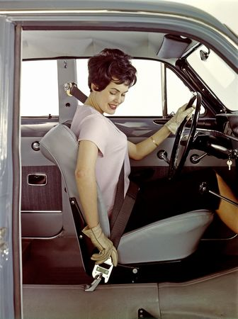 Volvo seat belt