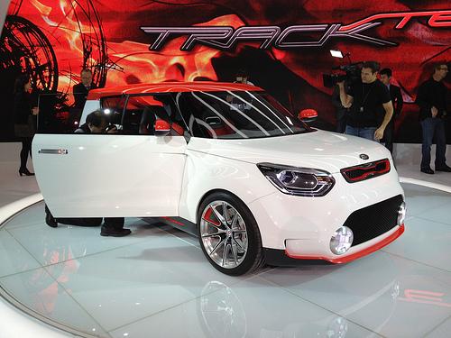 Kia Track'ster Chicago Auto Show