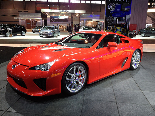 Lexus LFA Super Car Concept