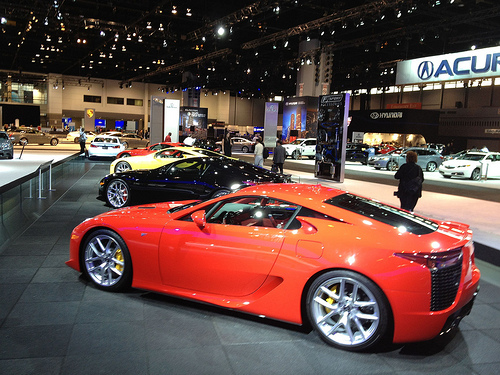 Lexus LFA Super Car Concept Chicago Auto Show