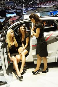Audi Girls - Geneva Auto Show