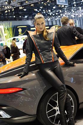 Bertone Girls - Geneva Auto Show