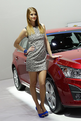 Geneva Auto Show Girls