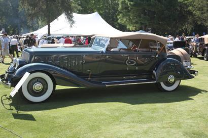 1933 Chrysler Imperial Cowl Phaeton