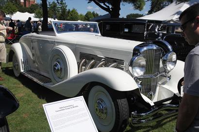 1935 Duesenberg Convertible Coupe