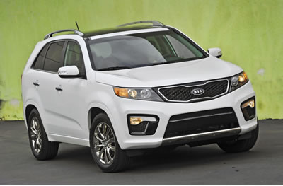 kia sorento best 3rd row seat suv for mpg. Black Bedroom Furniture Sets. Home Design Ideas